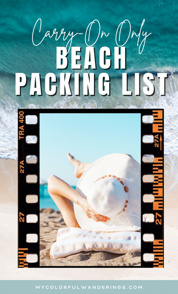 what to bring to the beach, beach packing list, safety travel packing guide, packing list for beach, packing list for beach vacation