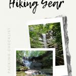Waterfall Hiking Gear Checklist