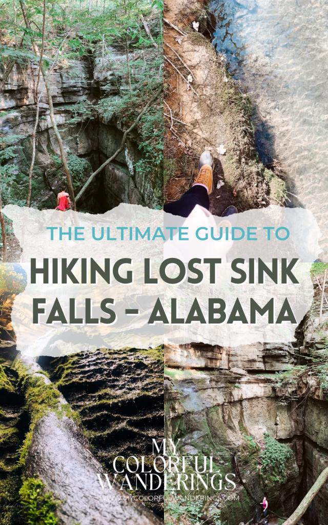 Hiking Lost Sink Falls Alabama