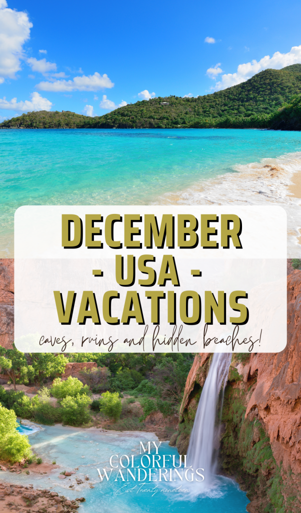 December USA Vacations