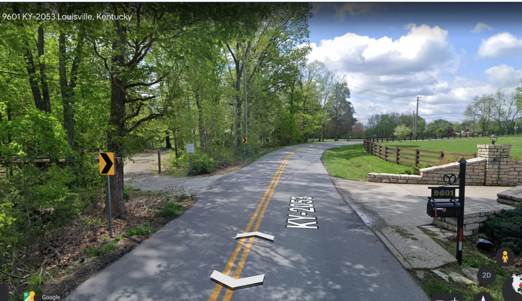 Fairmount Falls Louisville Kentucky Parking Area