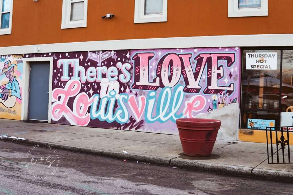 There Is Love In Louisville Mural