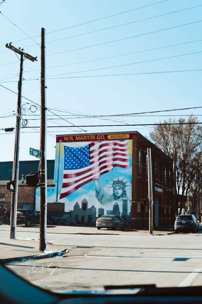 Statue of Liberty - The Art Cartel Louisville Mural