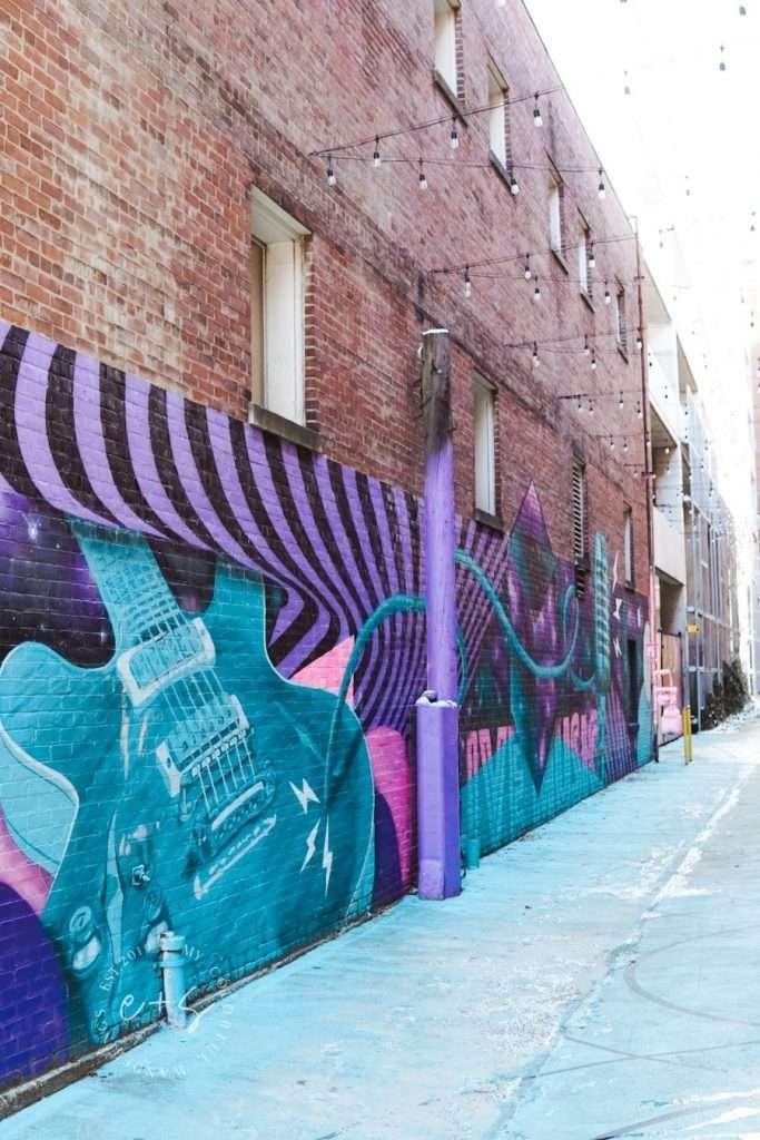 Music Alley Mural - Louisville Murals