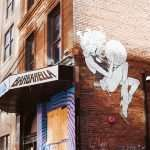 Barbarella Space Woman Mural - Louisville Murals