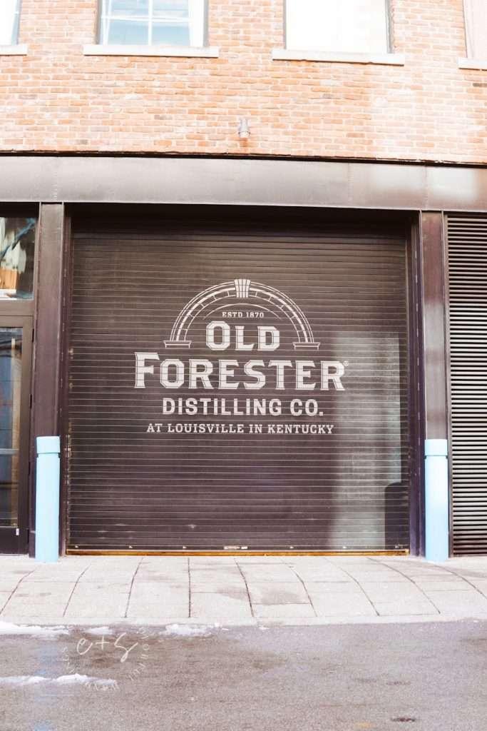 Old Forester Garage Mural - Louisville Murals