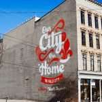 Our City Our Home - The Falls City Mural - Louisville Murals