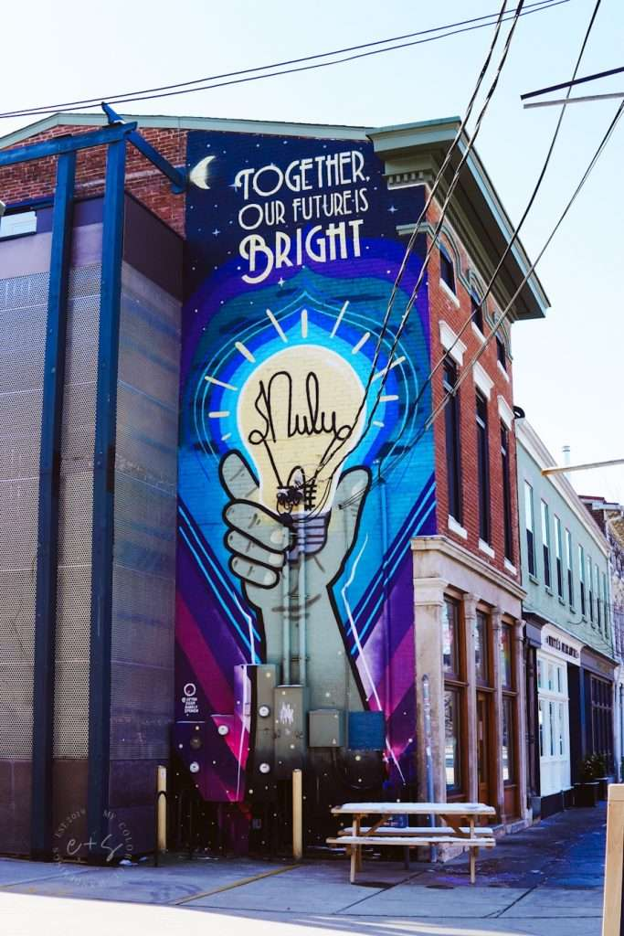 Together Our Future Is Bright Nulu Mural - Louisville Often Seen Rarely Spoken Murals
