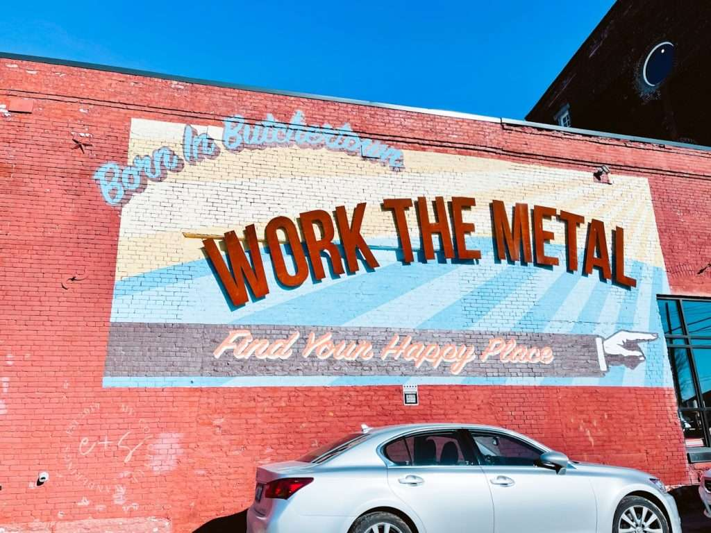 Work The Metal Mural _ Louisville kentucky Murals