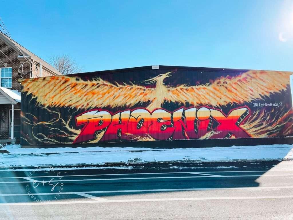 Phoenix Louisville Mural