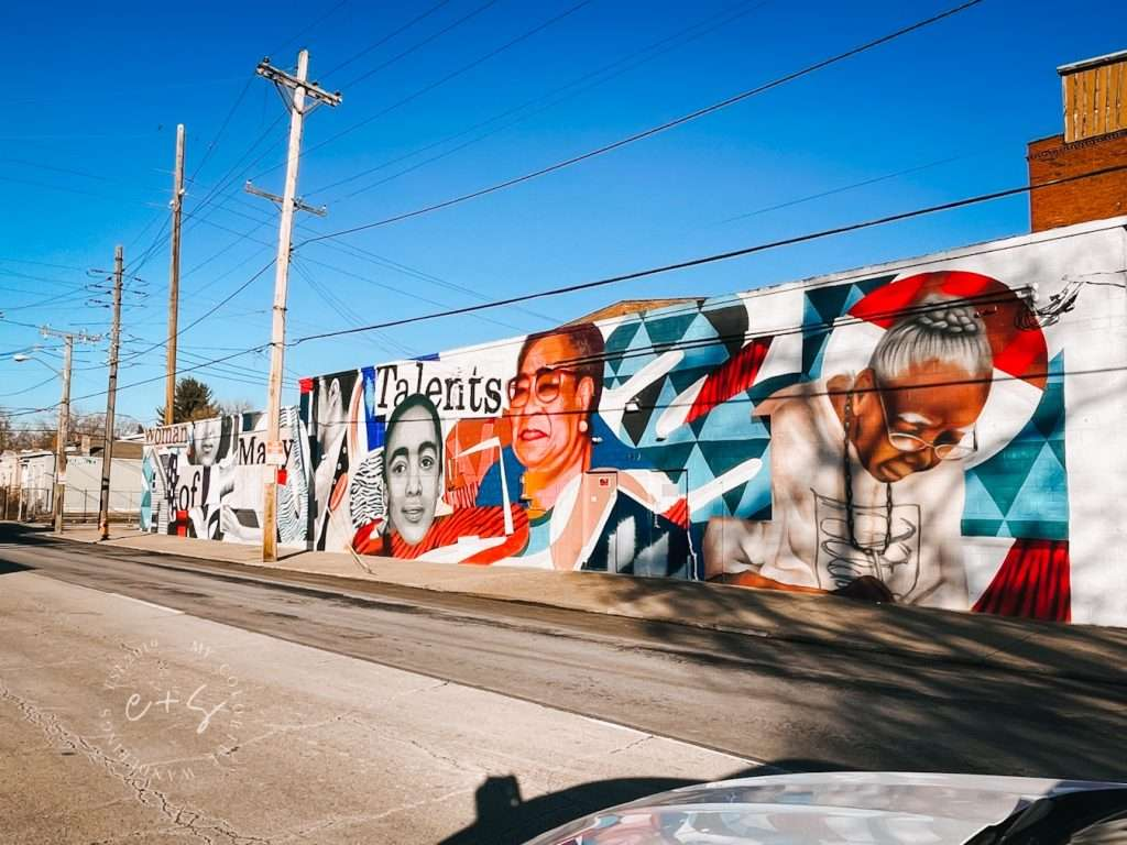 Woman Of Many Talents Mural - Louisville Murals