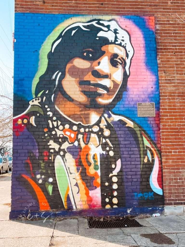Nellie Crawford Mural - Louisville Kentucky Murals