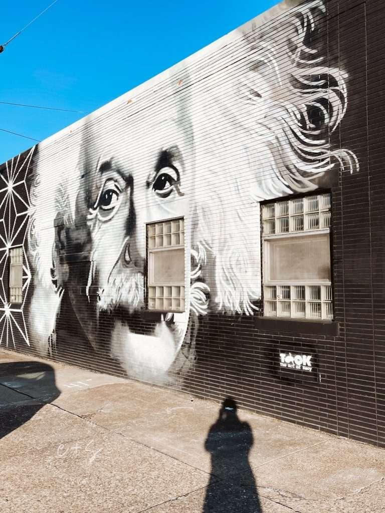 Albert Einstein Mural - Louisville Murals