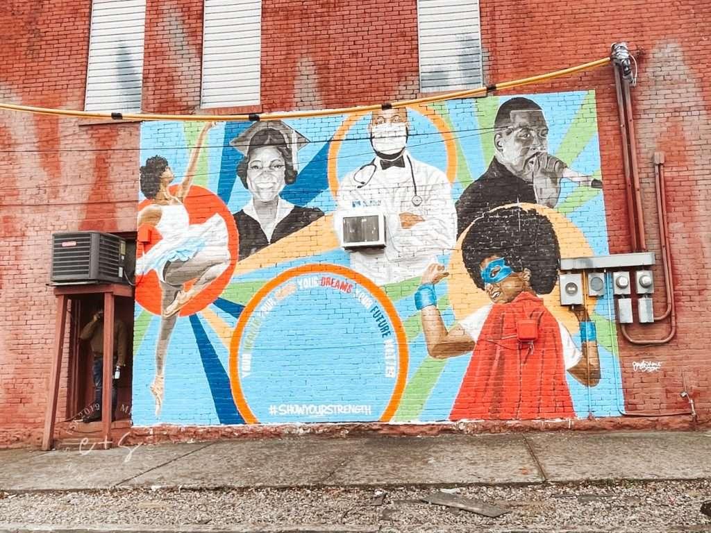 We Belong Mural - West Louisville Murals