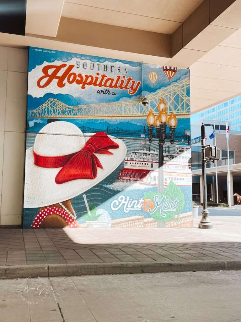 Southern Hospitality Mural Louisville kentucky