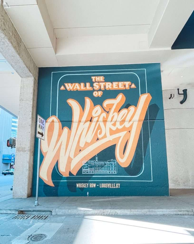 The Wall Street of Whiskey Mural - Louisville Murals