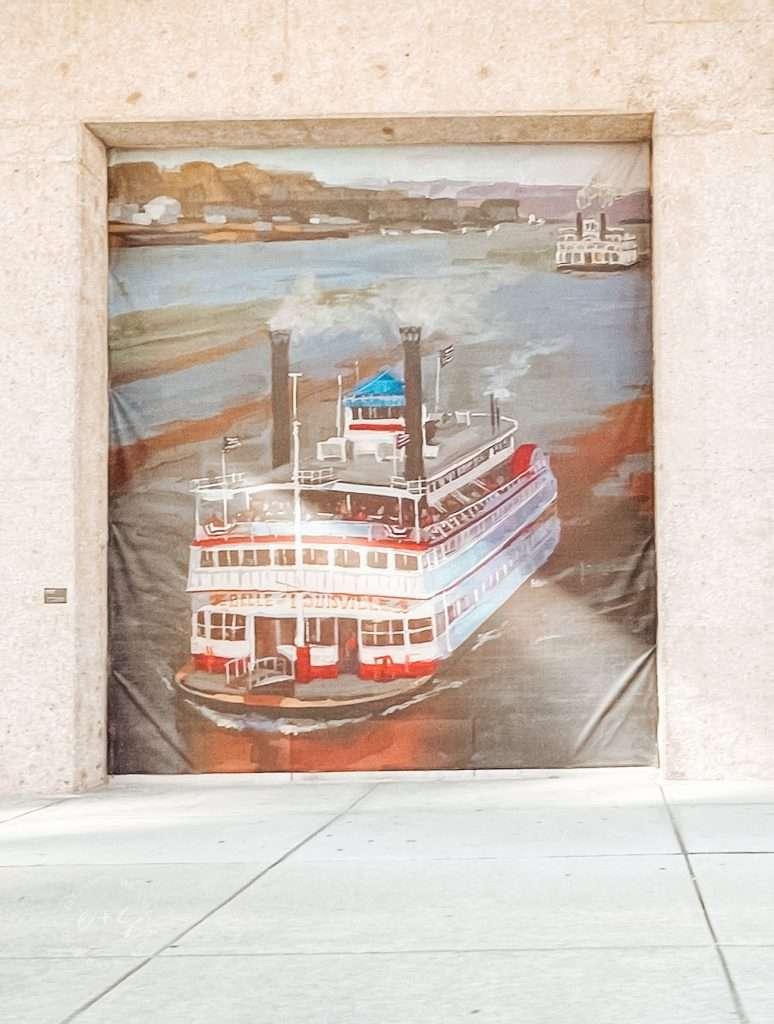 Belle of Louisville Mural