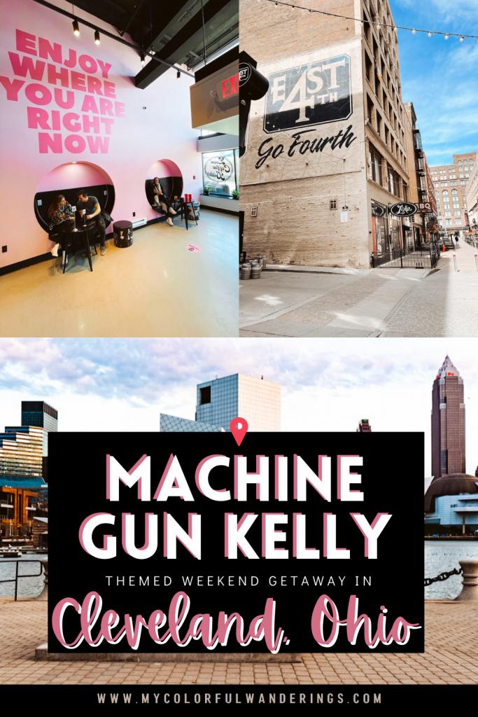 Machine Gun Kelly Themed Weekend Getaway in Cleveland, Ohio