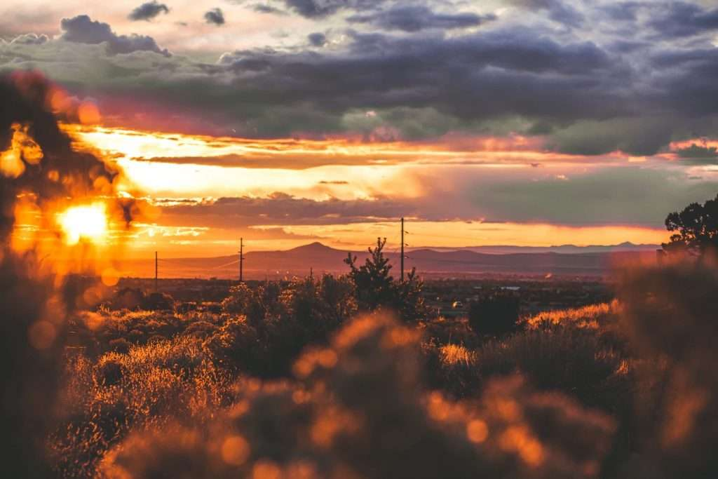 Best sunsets in the US, prettiest sunsets in the US, where to see the best sunsets in New Mexico, where to see the best sunsets in the USA