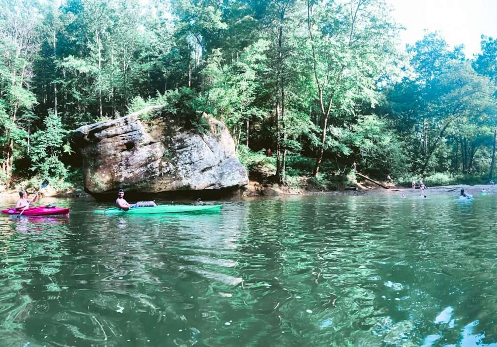 Red River Gorge Jump Rock, Summer Road Trips, Travel This Summer, Best Places to Travel in July, Summer Road Trip, 4th of July, travel this summer,