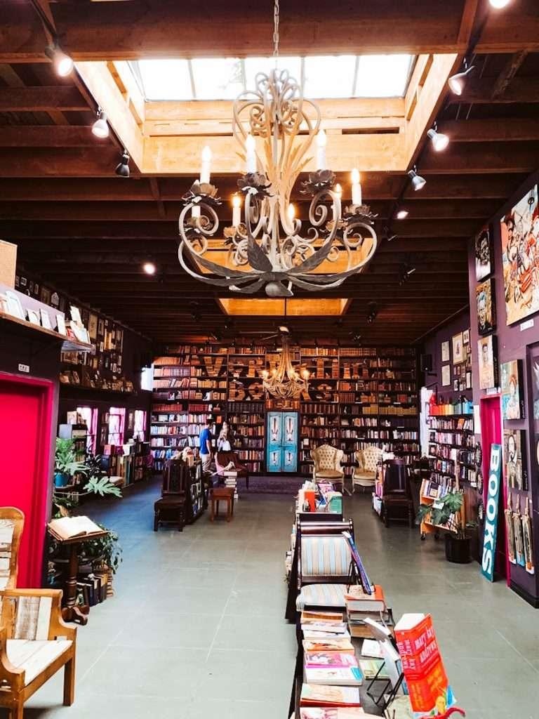 verbatim books - best bookstores in california - beautiful bookstores in the usa