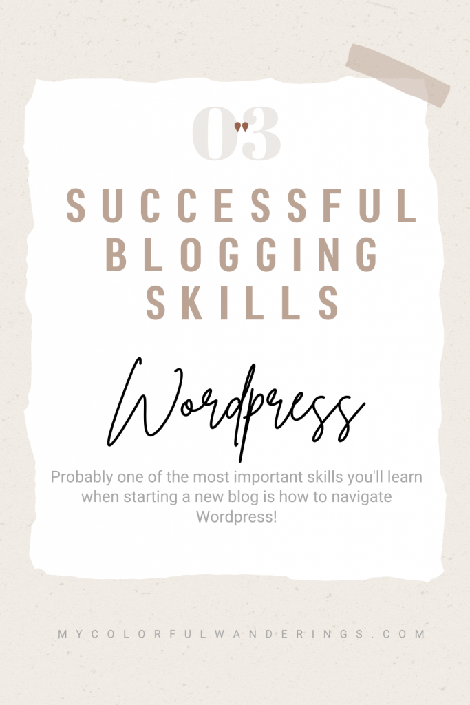 Learn the ins and outs of WordPress for a successful blog! Successful blogs, How to start with blogging, how to write a blog, how to be a blogger, beginning a blog,