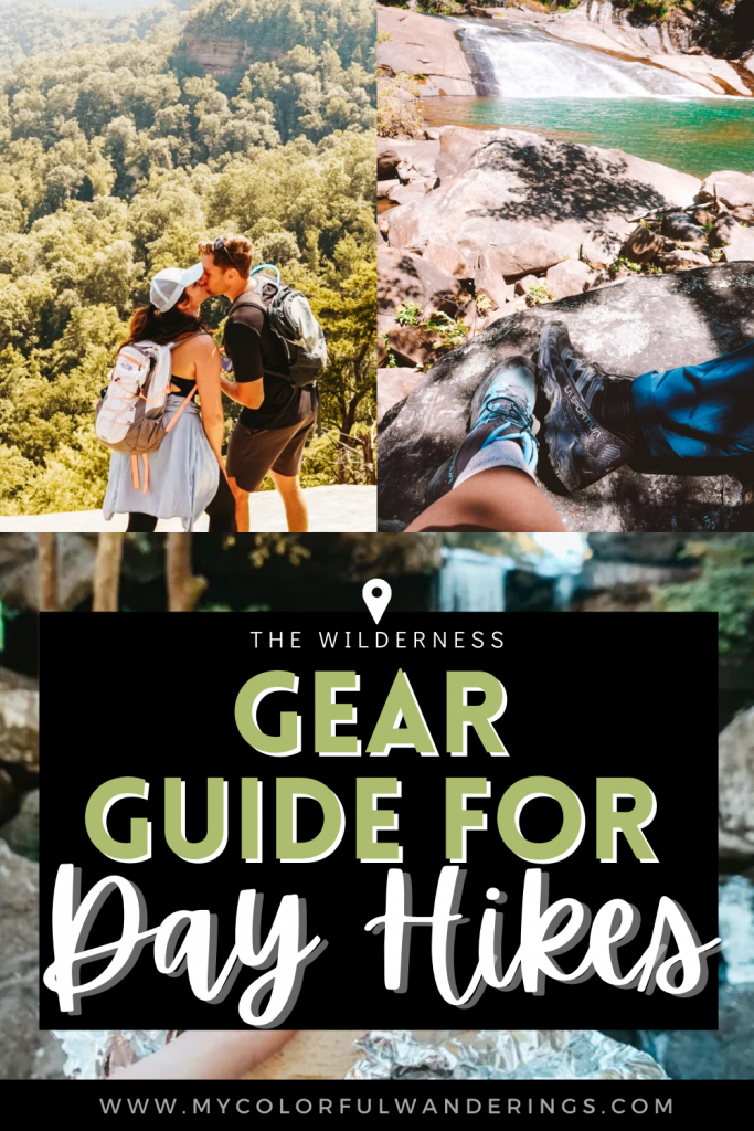 If you're wondering what to pack for an all-day hiking adventure - we've got you covered. Your day hiking backpack will have everything from extra socks to a waterproof fire starter! Hiking daypacks, hike essentials, day pack for hiking, what to bring on a hike, best day hiking backpack, hiking essentials list