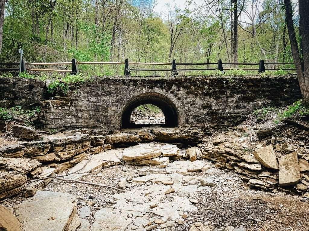 Bridges To The Past Trail Near Tioga Falls Trail