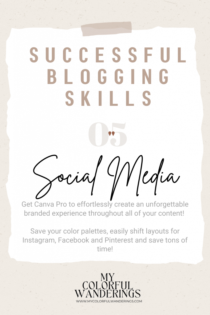 Learn to navigate social media for a successful blog! Successful blogs, How to start with blogging, how to write a blog, how to be a blogger, beginning a blog,