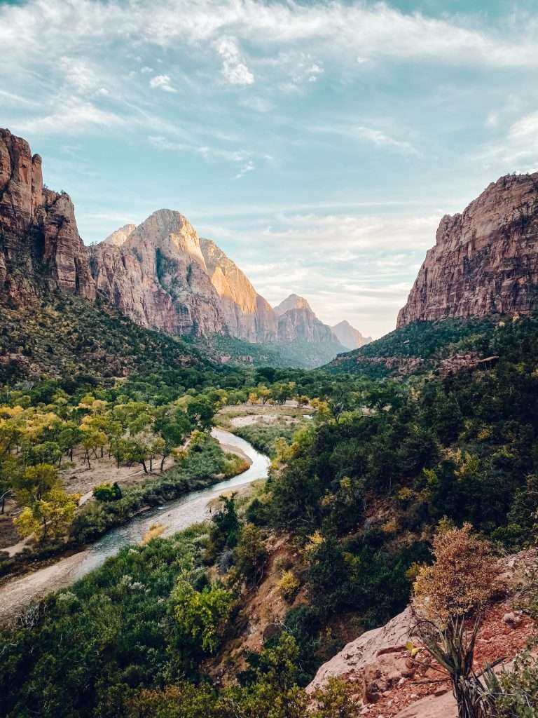 Zion National Park - Best Places to travel to in August