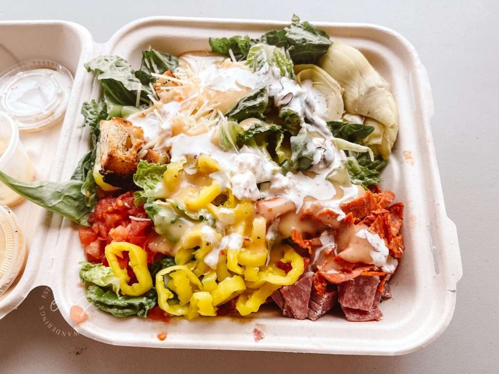 The Post Italian Salad - The best salads in louisville - healthy restaurants in Louisville, Keto restaurants in Louisville,