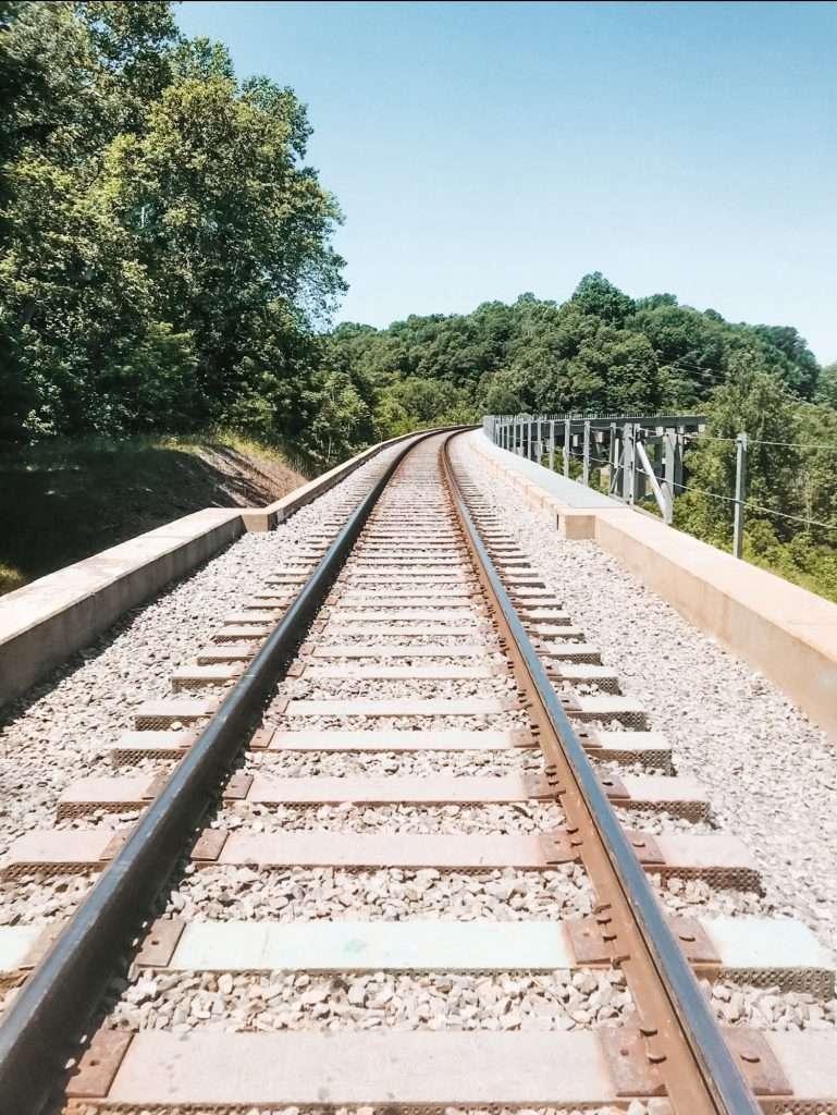 Railroad Tracks atTioga Falls Trail