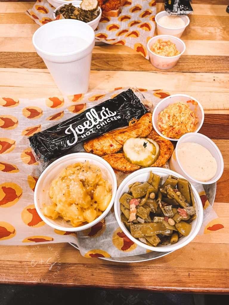 Joellas Hot Chicken Grilled Chicken and Green Beans healthy restaurants in Louisville, Keto restaurants in Louisville,