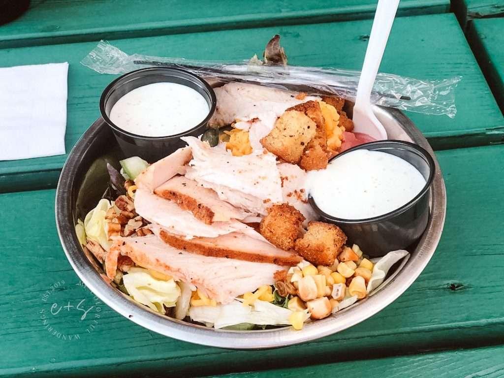 Martins BBQ - The Farmers Salad - Martins BBQ healthy restaurants in Louisville, Keto restaurants in Louisville,