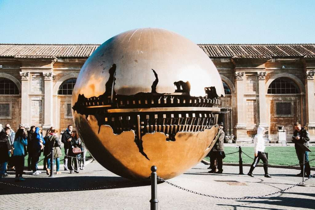 The Sphere within a Sphere at the Vatican