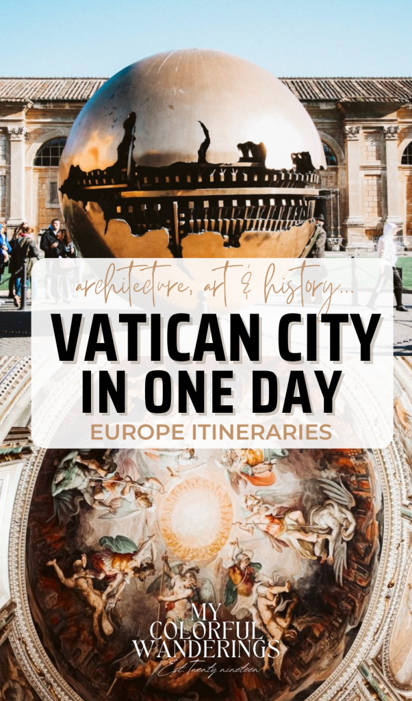 How to See Vatican city in one day