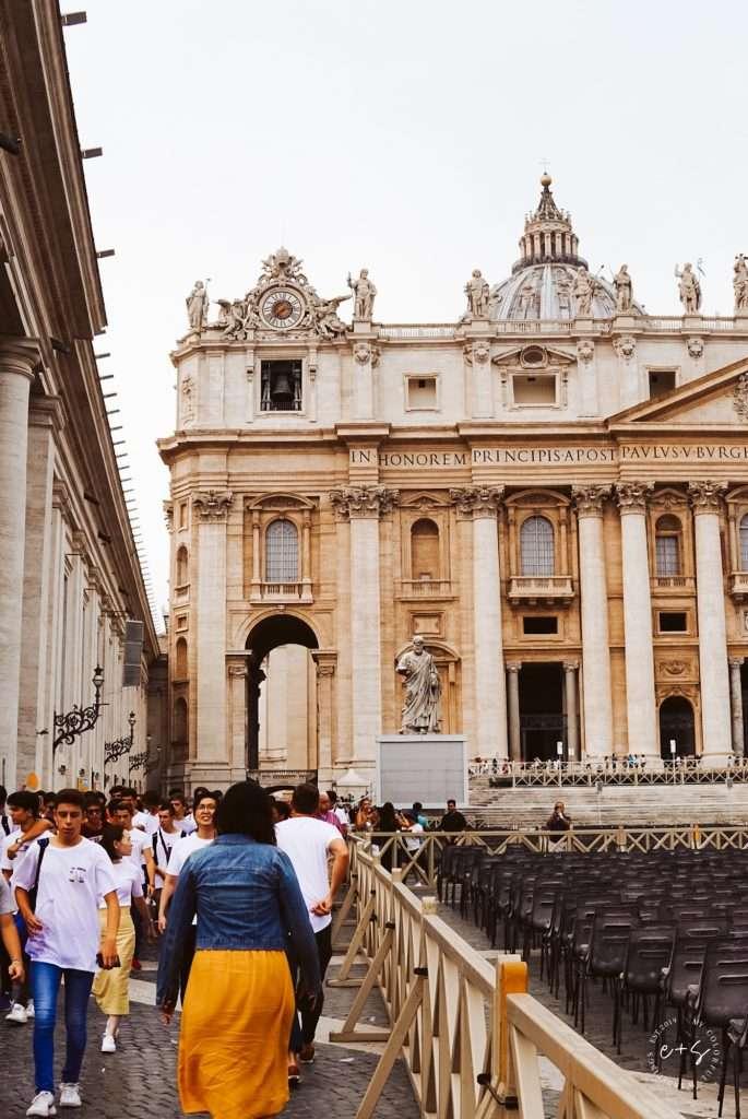 Saint Peters Basilica at The Vatican in Vatican City