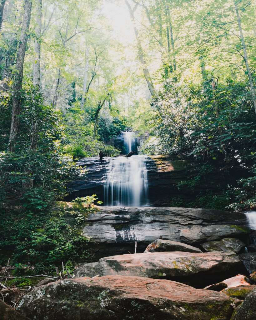 High shoals falls - hiawassee brew - what to do around bell mountain