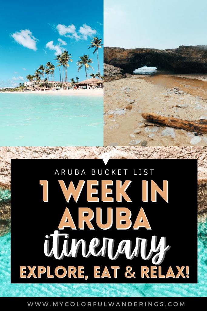1 week in aruba itinerary