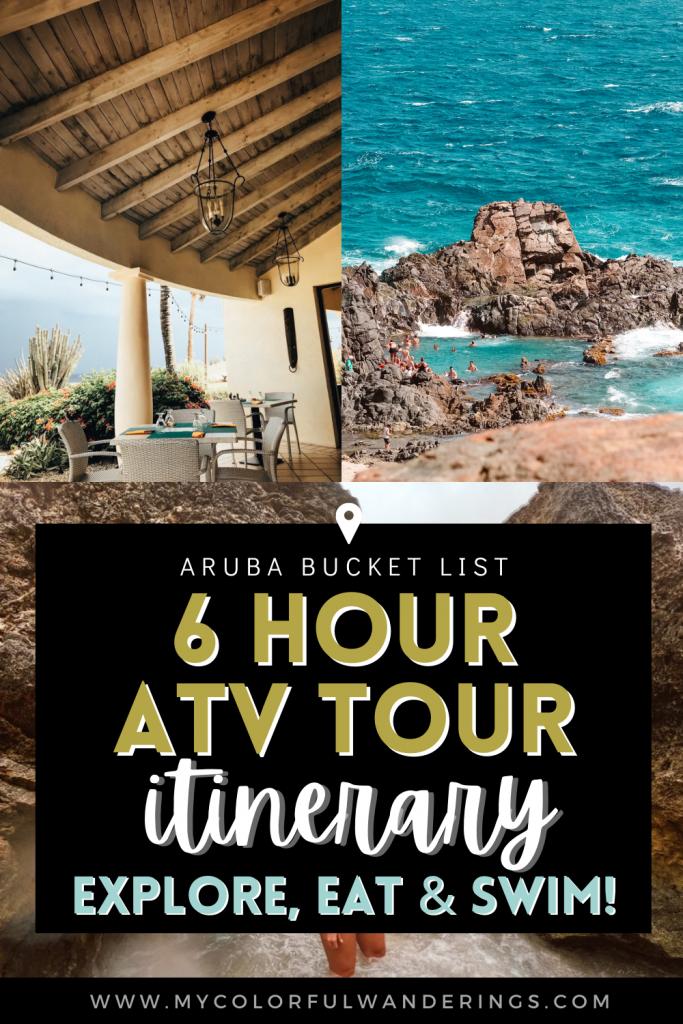 6 Hour ATV Itinerary In aruba