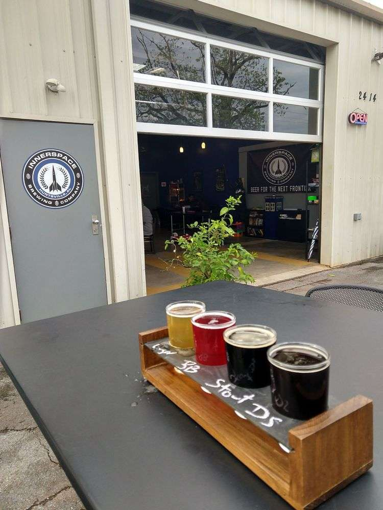 Innerspace Brewing Co - The best breweries in huntsville alabama | Huntsville Alabama Itinerary | What To do in huntsville alabama | Fun things to do in Huntsville Alabama