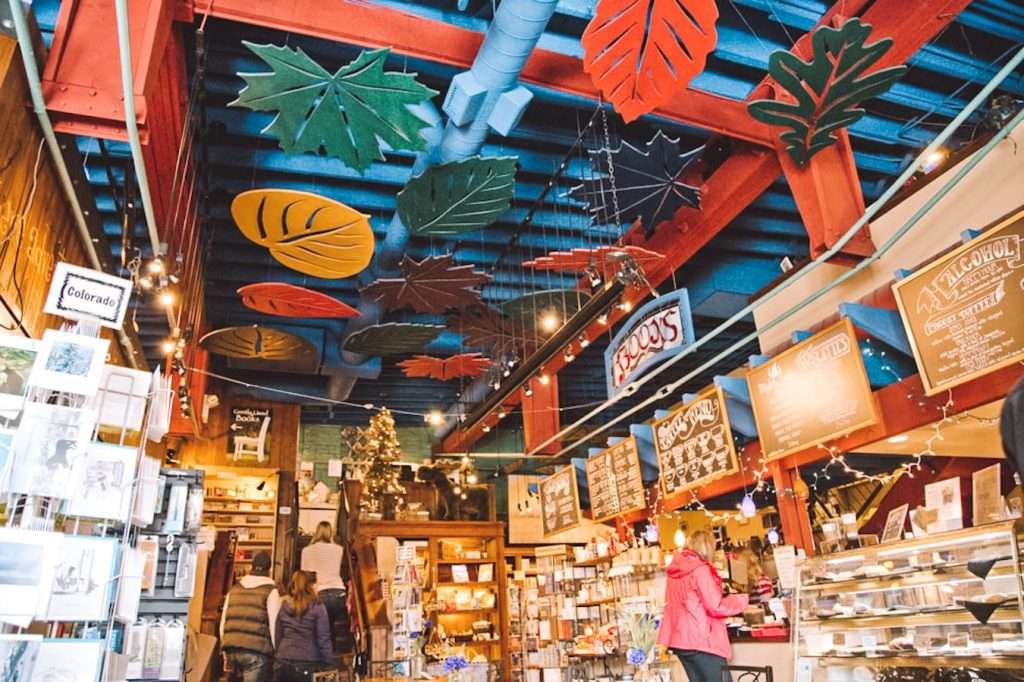 Off the beaten path bookshop in steamboat colorado - - beautiful bookstores in the usa