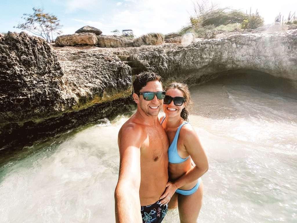 Tres Trapi Beach in Aruba - aruba excursions, UTV rental Aruba, ATV Rental Aruba, Aruba ATV Tours, Excursions in ARuba