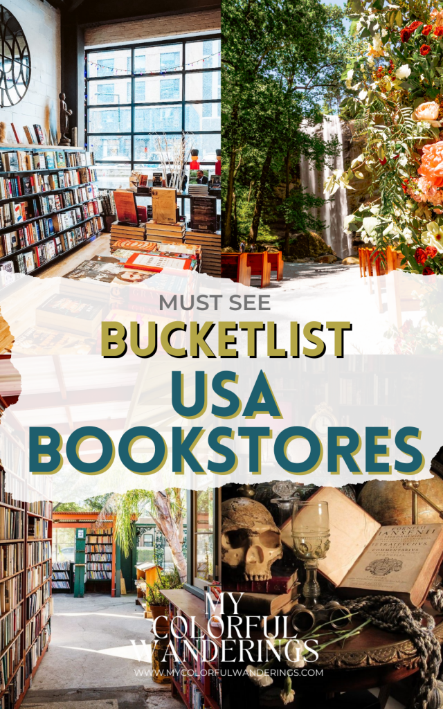 bucketlist USA bookstores