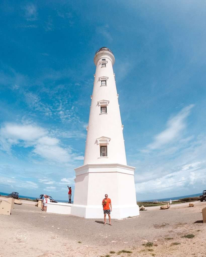 The california lighthouse - aruba excursions, UTV rental Aruba, ATV Rental Aruba, Aruba ATV Tours, Excursions in ARuba