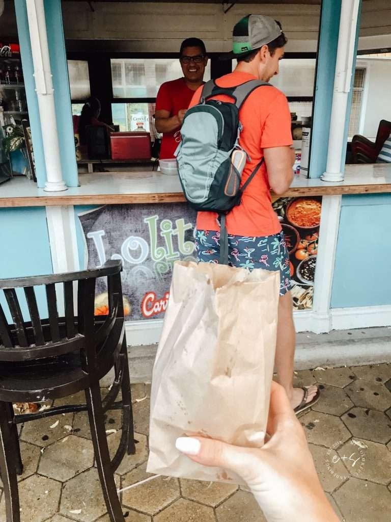 street food in Aruba - aruba itinerary