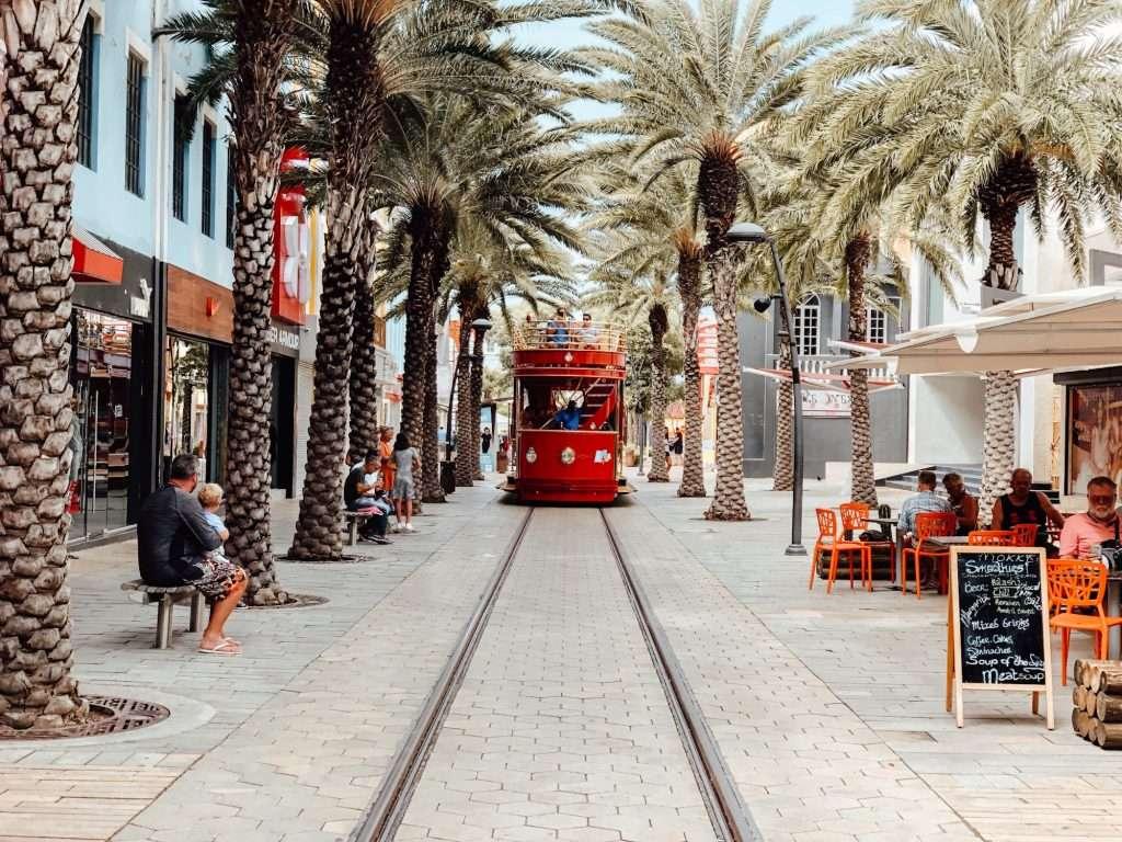 aruba streetcar, what to do in aruba, aruba itinerary